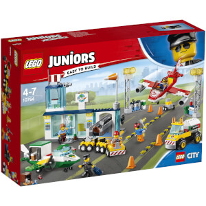 LEGO Juniors: L'aéroport City Central (10764)