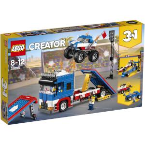 """LEGO Sets """"3 en 1"""" Creator: Espectáculo acrobático ambulante (31085)"""