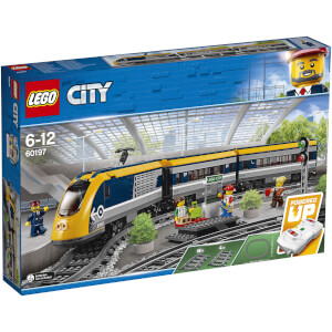 LEGO City Trains : Le train de passagers télécommandé (60197)