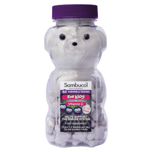 Sambucol Kids' Teddies - 60 Tablets