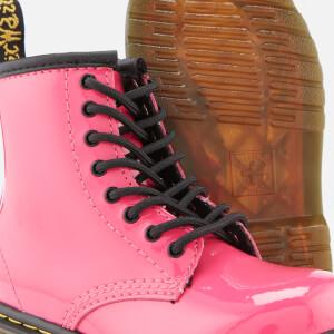 Dr. Martens Kids' 1460 T Patent Lamper Lace Up Boots - Hot Pink: Image 4