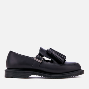 Dr. Martens Women's Gracia Brando Leather Tassel Flats - Black