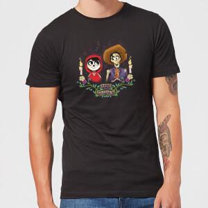 Camiseta Coco Disney Miguel y Héctor - Hombre - Negro