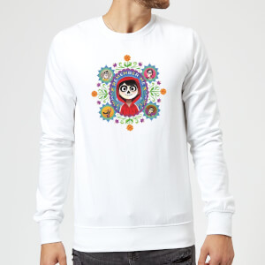 Coco Remember Me Sweatshirt - White