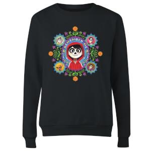 Coco Remember Me Women's Sweatshirt - Black