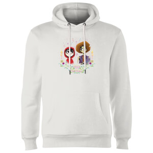 Coco Miguel And Hector Hoodie - White