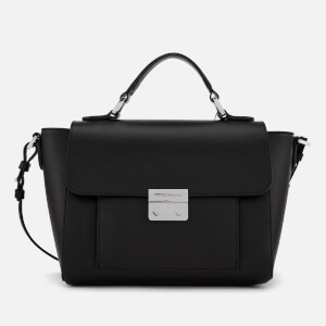 Emporio Armani Women's Top Handle Small Tote Bag - Black