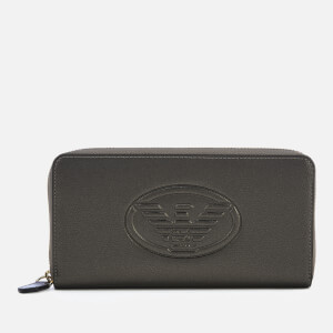 Emporio Armani Women's Frida Eagle Wallet - Gun Metal