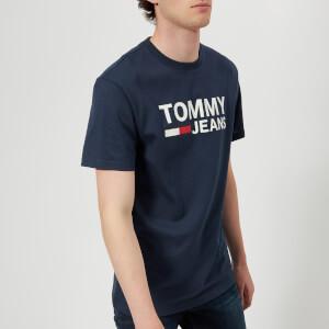 Tommy Jeans Men's Tommy Classic Logo T-Shirt - Black Iris