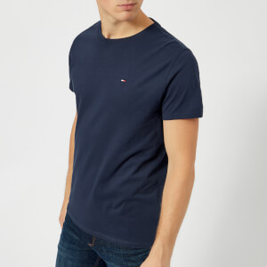 Tommy Jeans Men's Original Jersey T-Shirt - Black Iris