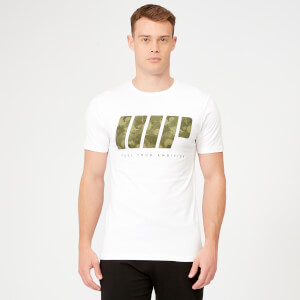 MP Dark Green Camo T-Shirt - White