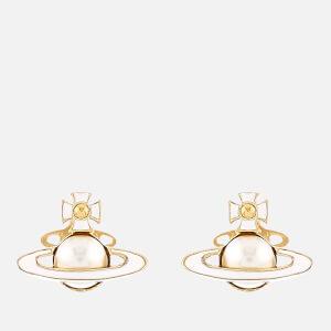 Vivienne Westwood Women's Iris Bas Relief Earrings - Gold