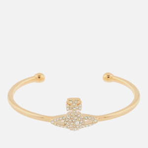 Vivienne Westwood Women's Grace Bas Relief Open Bangle - Gold
