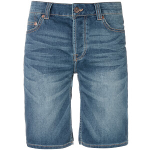 Only & Sons Men's Bull Denim Shorts - Blue Denim