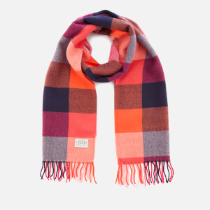 Joules Women's Bracken Soft Handle Scarf - Bright Gingham