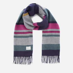 Joules Women's Bracken Soft Handle Scarf - French Navy Stripe