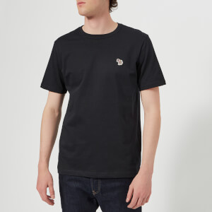 PS Paul Smith Men's Regular Fit Zebra T-Shirt - Dark Navy