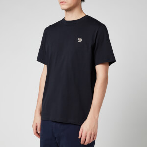 PS Paul Smith Men's Zebra Logo Regular Fit T-Shirt - Dark Navy
