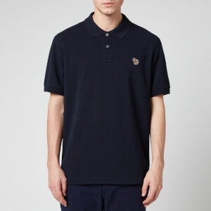PS Paul Smith Men's Zebra Logo Regular Fit Polo Shirt - Dark Navy