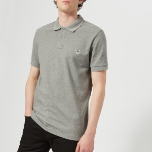 PS Paul Smith Men's Regular Fit Polo Shirt - Melange Grey