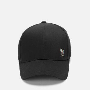 PS Paul Smith Men's Zebra Baseball Cap - Black