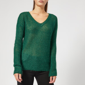 Gestuz Women's Molly V Neck Pullover - Botanical Garden