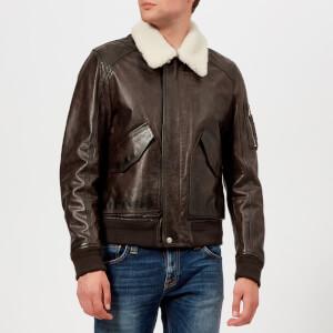 Belstaff Men's Arne Leather Jacket - Black/Brown