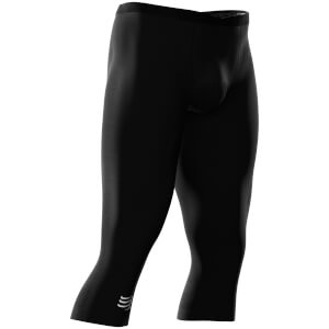 Compressport Running Under Control 3/4 Tights - Black