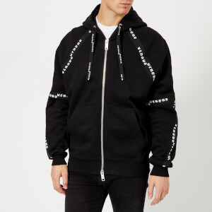 Versus Versace Men's Tape Detail Hoody - Black