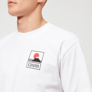 Edwin Men's Sunset On Mt. Fuji T-Shirt - White: Image 4