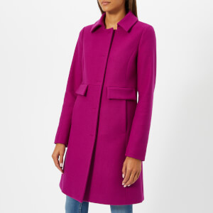 Herno Women's Wool Coat - Fuxia