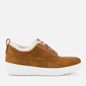 FitFlop Women's Glenda Shearling Trainers - Tumbled Tan