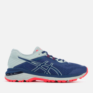 Asics Running Women's GT-2000 6 Trail Plasmaguard Trainers - Deep Ocean/Mid Grey