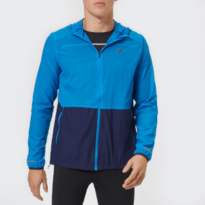 Asics Men's Packable Jacket - Race Blue/Peacoat