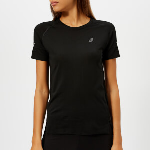 Asics Women's Seamless Short Sleeve Top - Performance Black