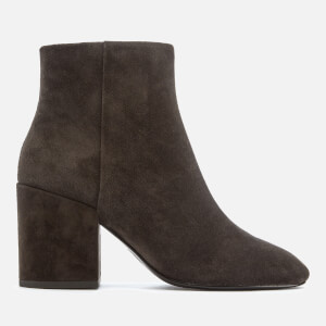 Ash Women's Eden Suede Heeled Ankle Boots - Africa