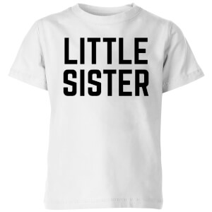 My Little Rascal Little Sister Kids' T-Shirt - White