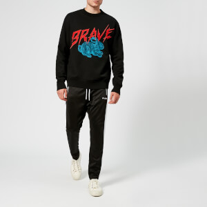 Diesel Men's Bay Logo Sweatshirt - Black: Image 3