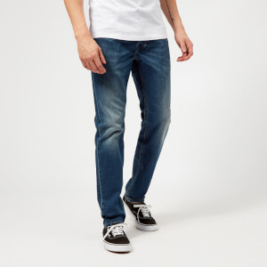 Diesel Men's Larkee-Beex Tapered Jeans - Mid Blue