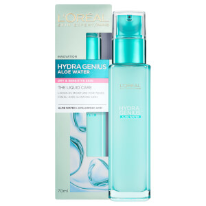 L'Oréal Paris Hydra Genius Liquid Care Moisturiser Sensitive Skin -kosteusvoide 70ml