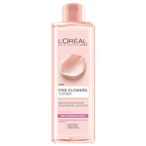 L'Oreal Paris Fine Flowers Cleansing Toner 400ml