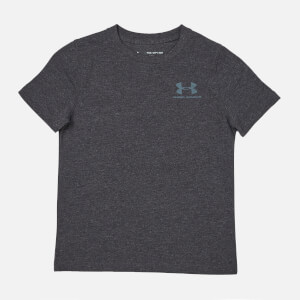Under Armour Boys' Short Sleeve Cotton T-Shirt - Black