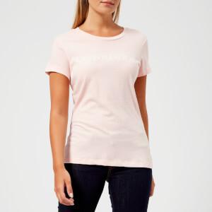 Calvin Klein Jeans Women's Institutional Logo Slim Fit T-Shirt - Chintz Rose