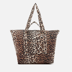 Ganni Women's Fairmont Tote Bag - Leopard