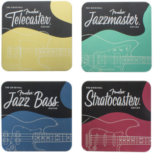 Fender Metal Coasters
