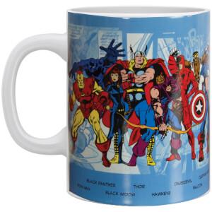 Marvel Comics Character Mug