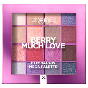 L'Oreal Paris Paradise Pastel Eyeshadow Palette - Berry Much