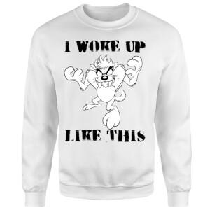 Looney Tunes I Woke Up Like This Sweatshirt - White