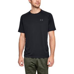 Under Armour Men's Tech 2.0 Short Sleeve T-Shirt - Black/Graphite