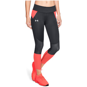 Under Armour Women's SpeedPocket Running Leggings - Black
